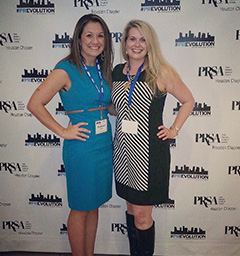 Stephanie Hood and Cindi Broudeaux at PR Day 2014 Image